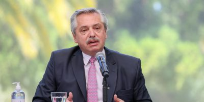 Alberto Fernández visitará Chile está semana 10