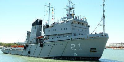 El sismo registrado en la Antártida puso en alerta a la Armada Argentina 7