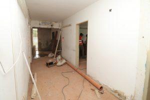 Se continúa reformando el CAPS del barrio Otero 4