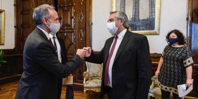 El Presidente recibió a funcionarios de México para analizar la respuesta de ambos países a la pandemia de coronavirus 10