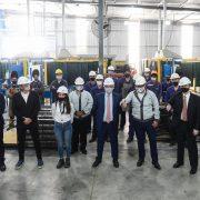 Baradero: El Presidente visitó una autopartista nacional que fabricará piezas para el nuevo modelo Volkswagen Taos 4