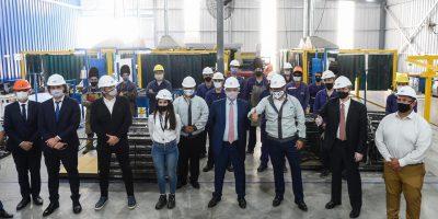 Baradero: El Presidente visitó una autopartista nacional que fabricará piezas para el nuevo modelo Volkswagen Taos 8