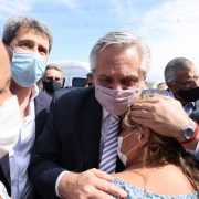 """Alberto Fernández: """"Si hay un sanjuanino que sufre, sufre toda la Argentina"""" 1"""