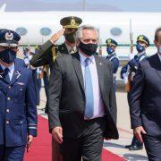 El presidente Alberto Fernández ya está en Santiago de Chile 4