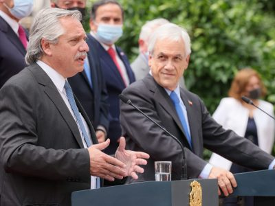 """""""Argentina y Chile son países indisolublemente hermanados"""", dijo el presidente Fernández 1"""