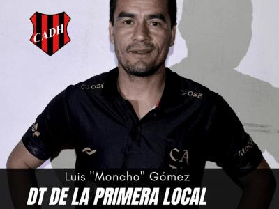 """Luis """"Moncho"""" Gómez fue confirmado como DT de la primera local de Douglas 2"""