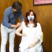 Cristina Kirchner se vacunó contra el coronavirus 2