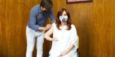 Cristina Kirchner se vacunó contra el coronavirus 9