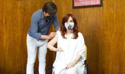 Cristina Kirchner se vacunó contra el coronavirus 7
