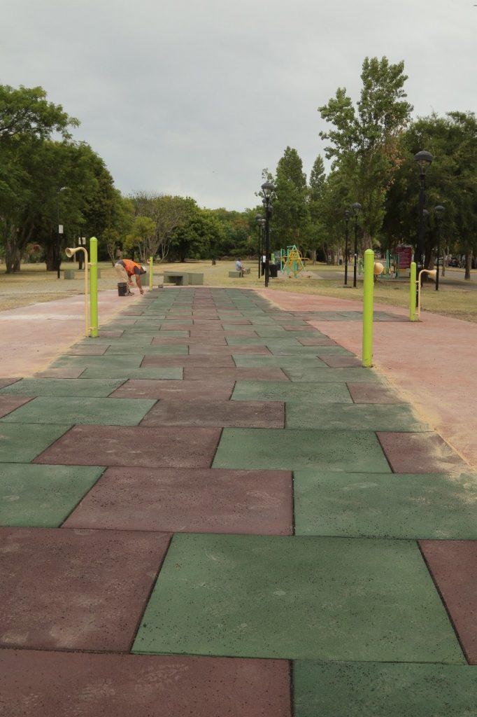 Mejoras en Parque España 1