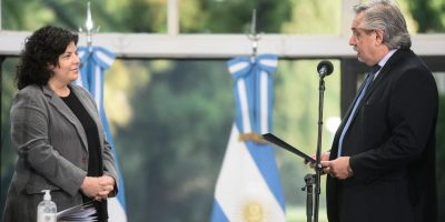 Carla Vizzotti juró como ministra de Salud 9