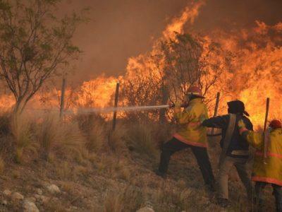 CRA: Analizan situación en cuatro provincias por incendios y eventos climáticos 2