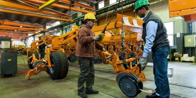 Maquinaria agrícola : cinco localidades bonaerenses concentran el 42 % del total provincial 6