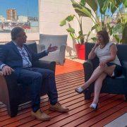 Javier Martínez se reunió con Patricia Bullrich 2