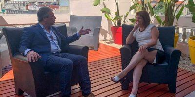 Javier Martínez se reunió con Patricia Bullrich 9