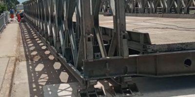 ¿Por qué el Jueves estuvo cortado el puente provisorio Colon-Illia? 7