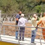 El ejército terminó el montaje del puente provisorio Colón-Illia 6