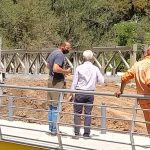 El ejército terminó el montaje del puente provisorio Colón-Illia 5