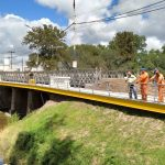 El ejército terminó el montaje del puente provisorio Colón-Illia 7
