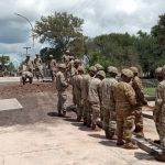El ejército terminó el montaje del puente provisorio Colón-Illia 8