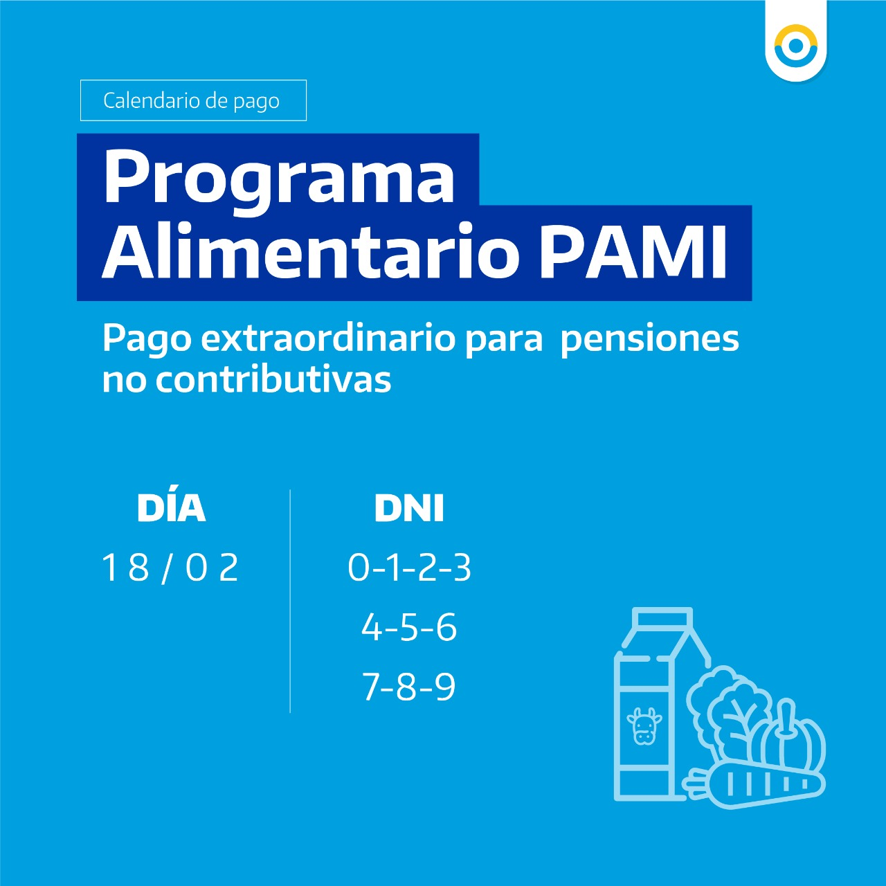 PAMI pagará una nueva cuota de asistencia alimentaria 1