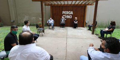 Primera reunión de paritarias municipales 6