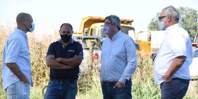 Provincia realizó la presentación de obras del Plan Estratégico de Mejora de Caminos Rurales 5
