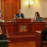 El Intendente Javier Martínez realizó la apertura de sesiones del HCD 1