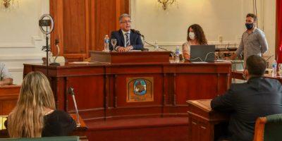 El Intendente Javier Martínez realizó la apertura de sesiones del HCD 6