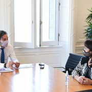 Cafiero y Trimarco se reunieron para dialogar sobre la Fundación María de los Ángeles 2
