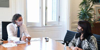 Cafiero y Trimarco se reunieron para dialogar sobre la Fundación María de los Ángeles 5