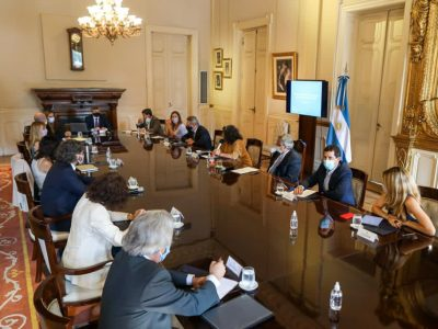 El Presidente encabezó una nueva reunión del Comité de Vacunación contra el coronavirus 8
