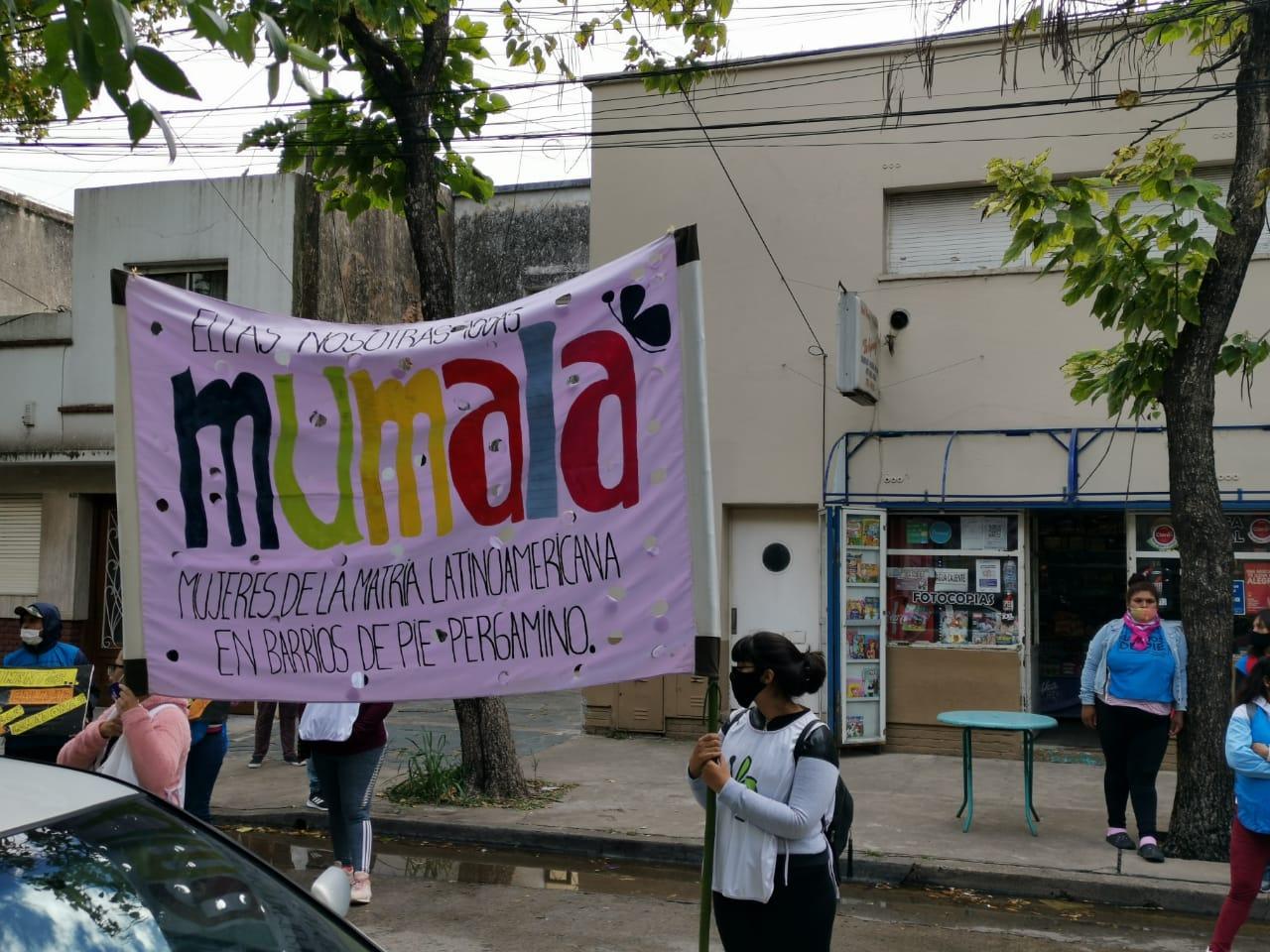 Organizaciones sociales reclaman frente a la Secretaría de Desarrollo Social e Innovación 1
