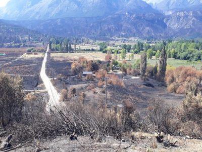 El INTA asiste a productores afectados por los incendios 2