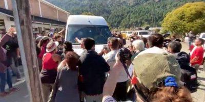 Allanamientos y al menos 5 detenciones por el ataque a la comitiva presidencial en Chubut 10