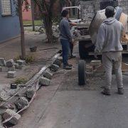 Desde el Municipio realizaron reparación de cordones cuneta 14