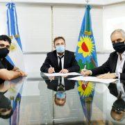 Alak firmó un convenio con Diputados para facilitar trámites de Personería Jurídica a organizaciones sociales 2