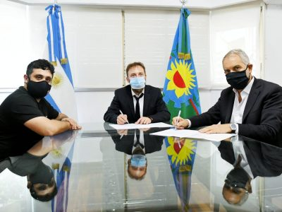 Alak firmó un convenio con Diputados para facilitar trámites de Personería Jurídica a organizaciones sociales 1