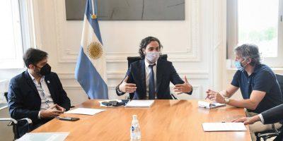 Tras la reunión con Cafiero, Ciudad y Provincia definieron posibles restricciones y mañana se vuelven a reunir 10