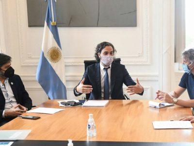 Tras la reunión con Cafiero, Ciudad y Provincia definieron posibles restricciones y mañana se vuelven a reunir 4