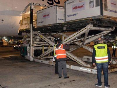 Alberto Fernández recibió el avión de Aerolíneas Argentinas con 1 millón de dosis de Sinopharm 11