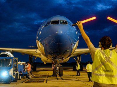 Arribaron 768 mil dosis de Sinopharm en el segundo de los 10 vuelos previstos desde Pekín para este mes 3