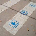 CHACABUCO: Sendas peatonales con pictogramas para personas con autismo 6