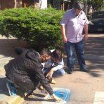 CHACABUCO: Sendas peatonales con pictogramas para personas con autismo 5