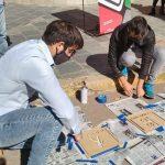 CHACABUCO: Sendas peatonales con pictogramas para personas con autismo 3