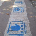 CHACABUCO: Sendas peatonales con pictogramas para personas con autismo 4