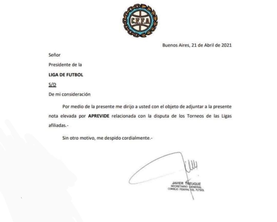 Se suspendió el Fútbol Local hasta nuevo aviso 1