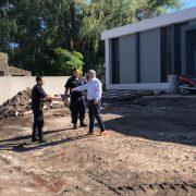 La construcción de la nueva Jefatura de Policía entra en la etapa final 3