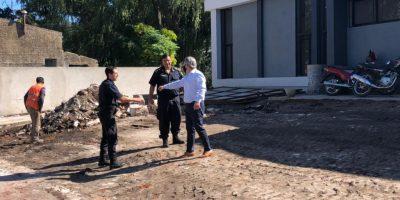 La construcción de la nueva Jefatura de Policía entra en la etapa final 9