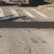 Se solicita circular a baja velocidad por el puente de Bv. Colón 15